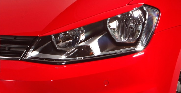 Headlight covers golf7