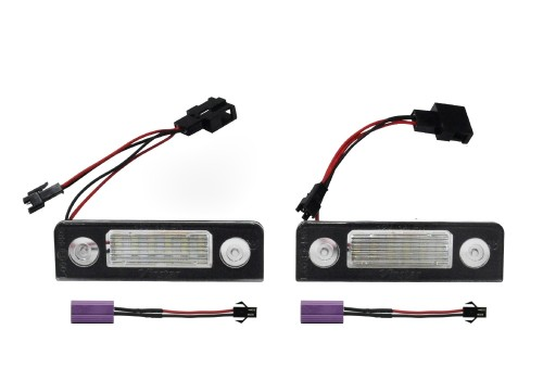 Plate light led Skoda