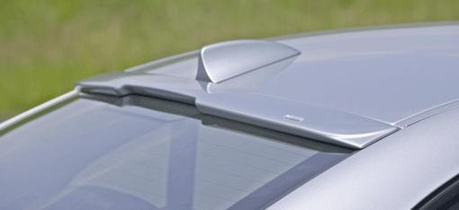 Rear window spoiler e60