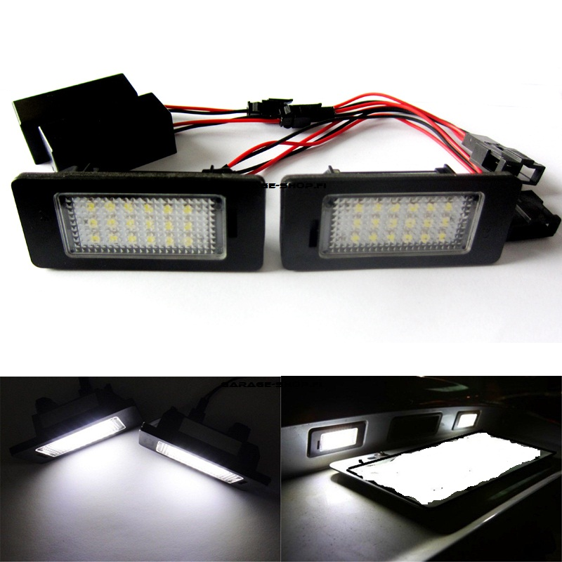 Plate light led audi
