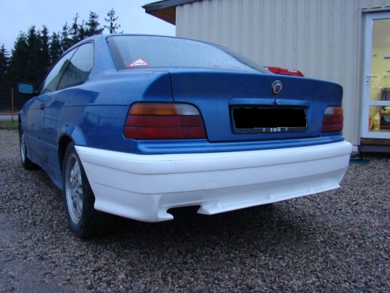 Rear bumper E36 motorsport