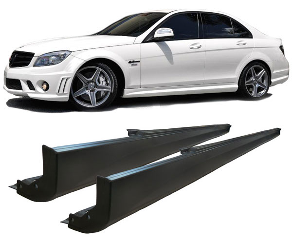 Side skirts  MB w204 amg