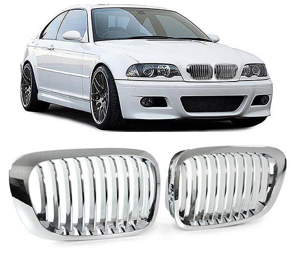 Grill E46 coupe chrom
