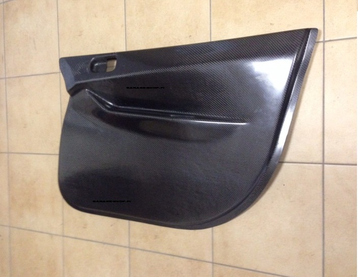 Carbon fiber door panels subaru