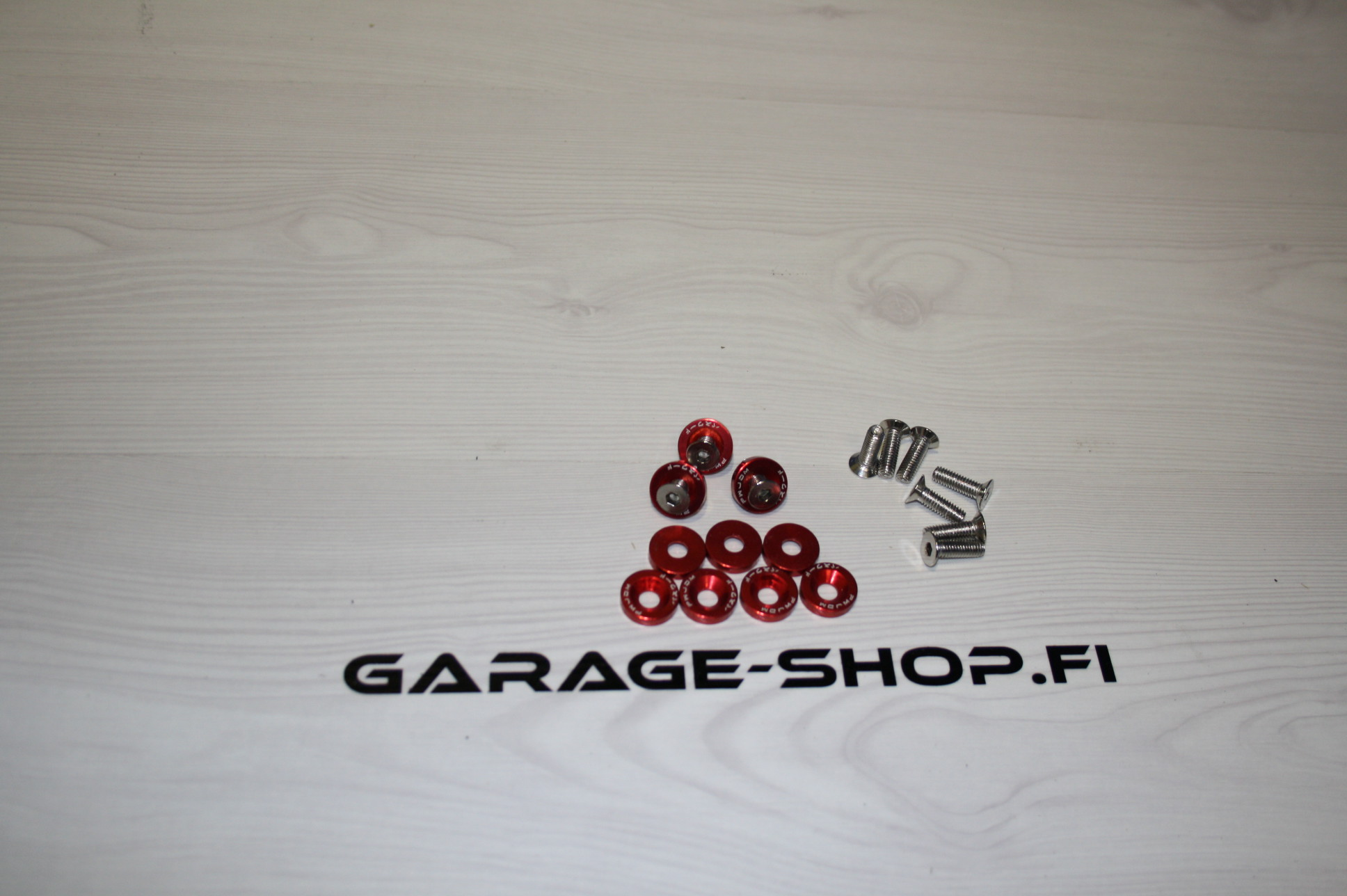 jdm bolt set red