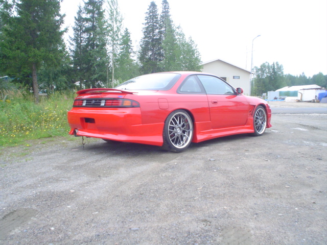 Side skirts nissan s14