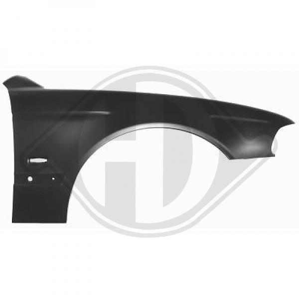 Front fender E39 Right