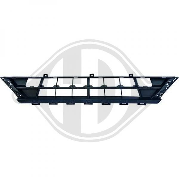 Front bumper mesh for transit custom 13-18