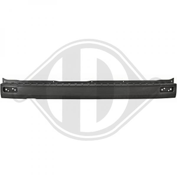 Ford transit custom rear bumper center