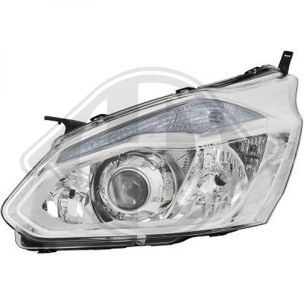 Ford transit custom headlight le