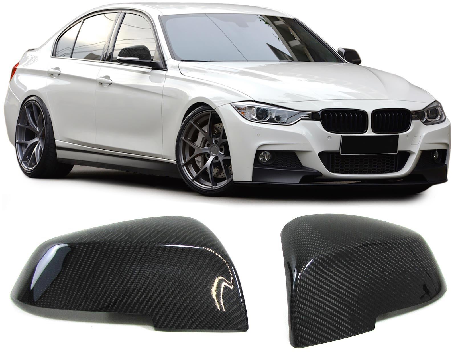 Carbon mirror cover Bmw