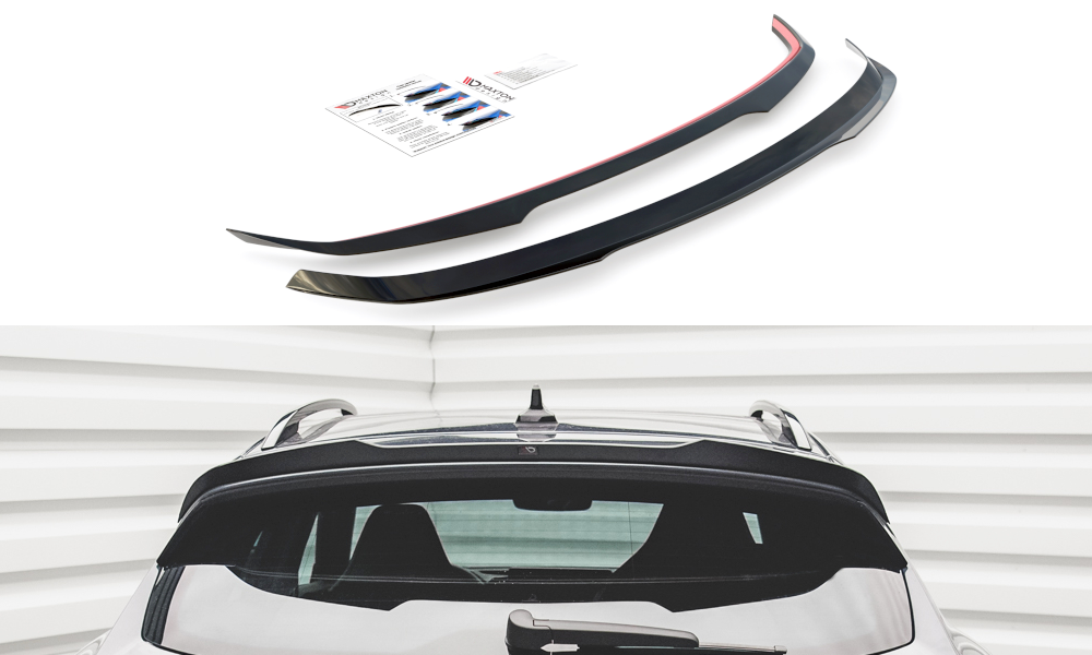 Audi SQ7 / Q7 S-Line 2016-2020 Rearspoiler extension