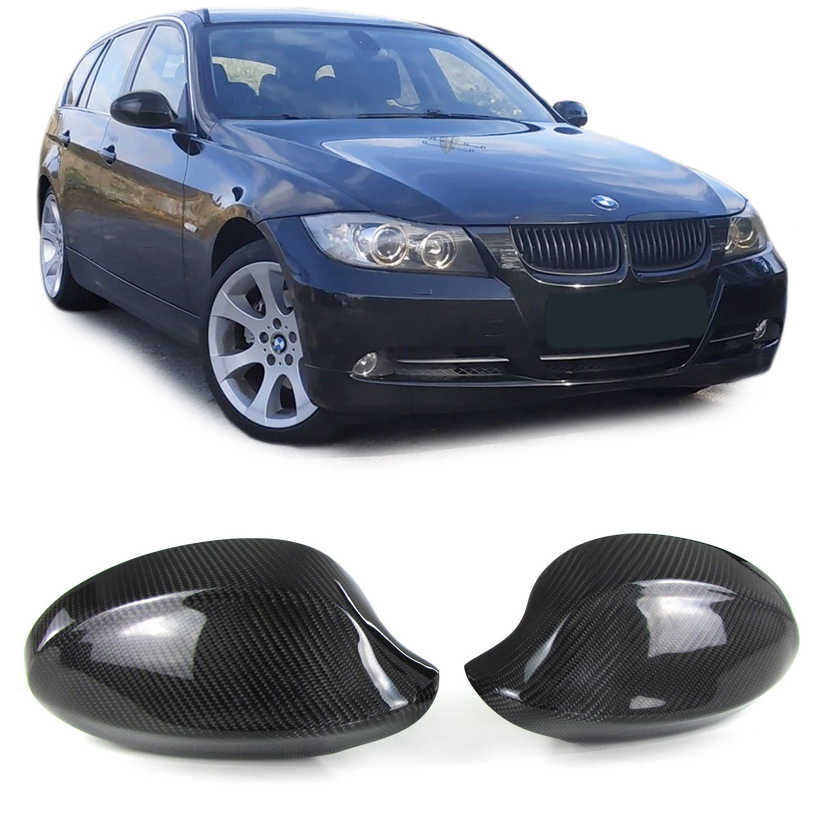 Carbon mirror cover Bmw e90 e91