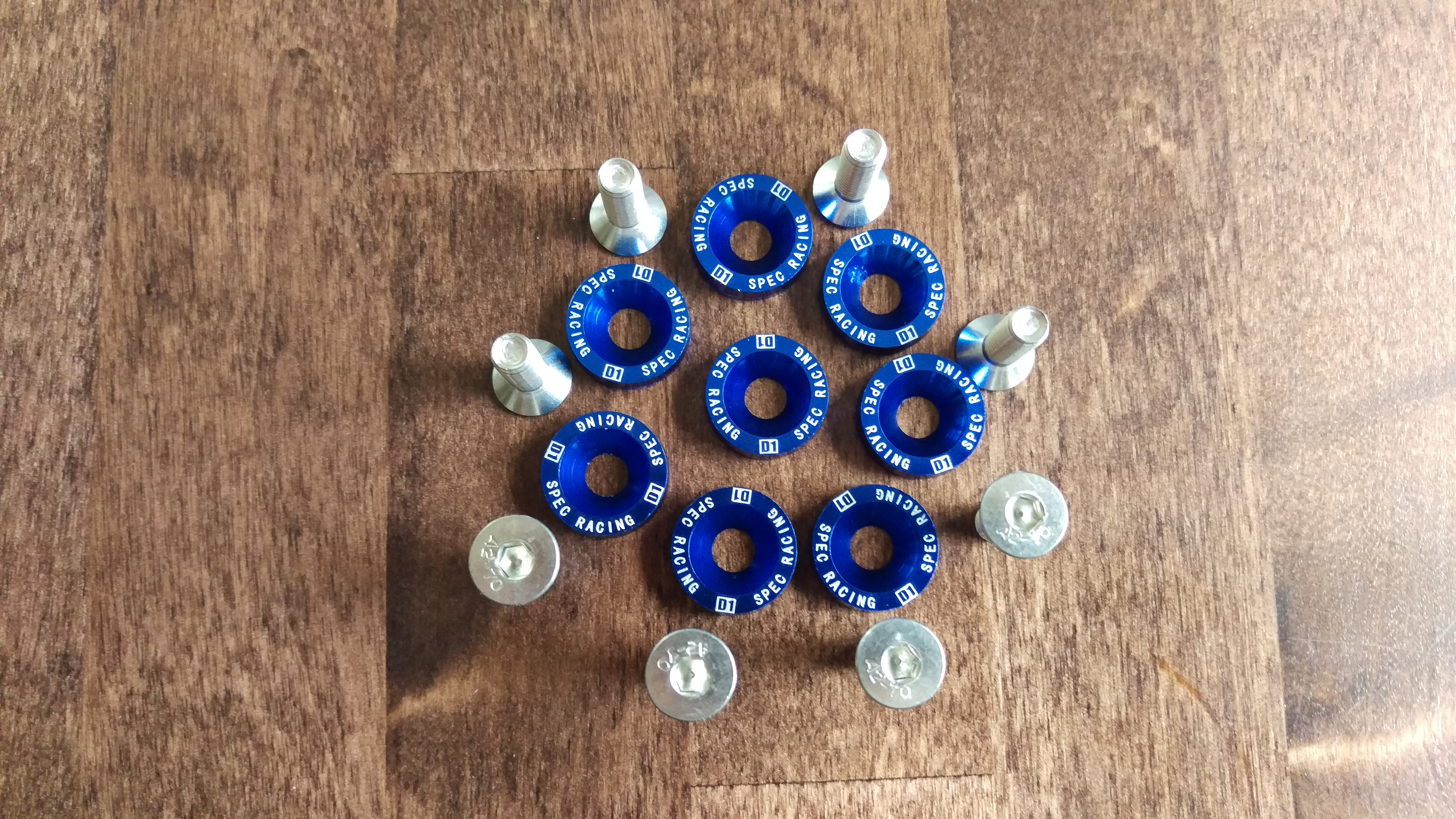 Jdm bolt set Blue
