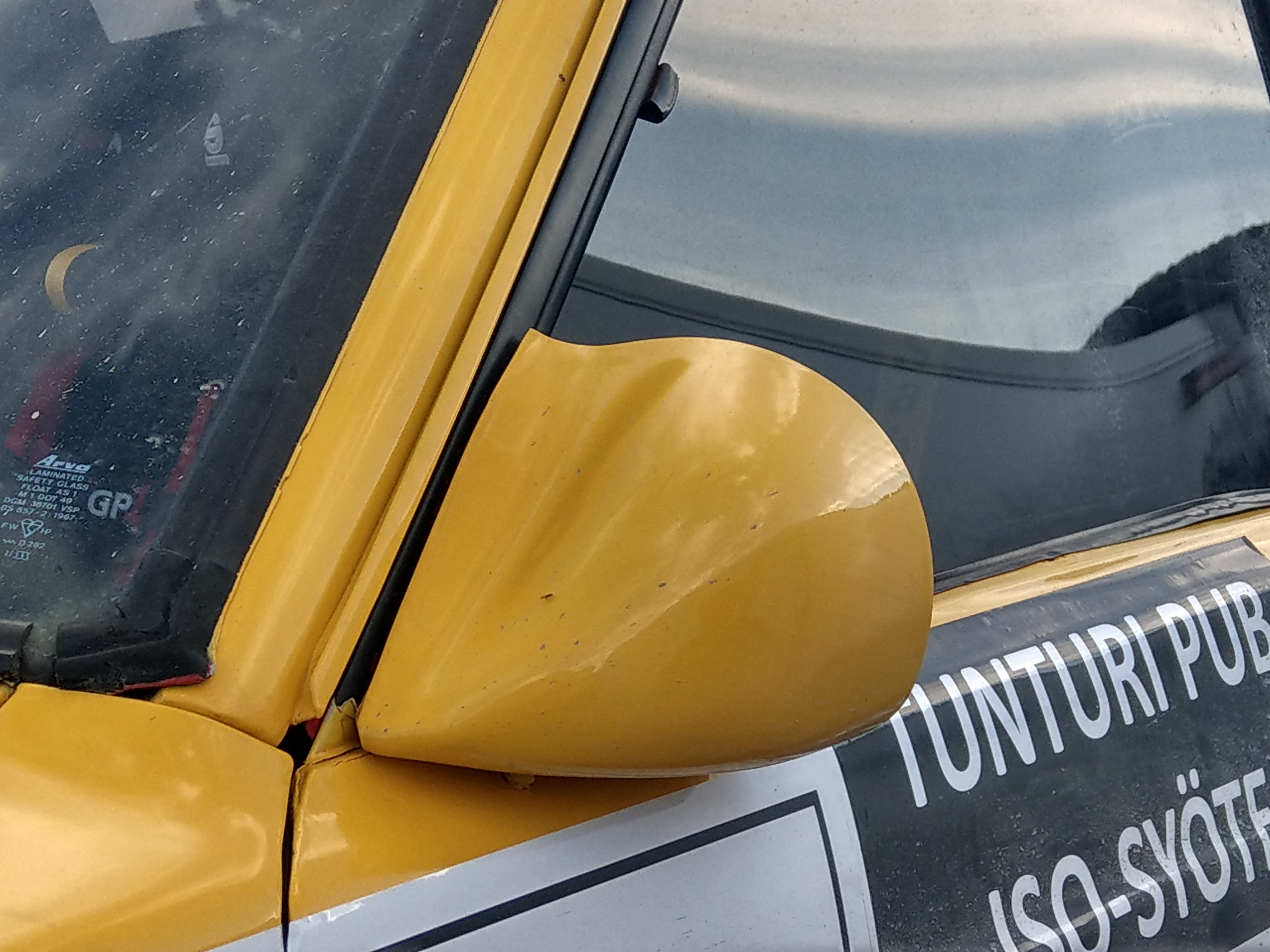 Toyota starlet mirrors carbon