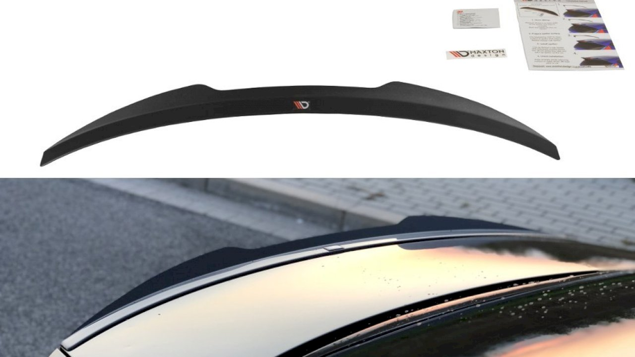 Audi S4 B8 Facelift Rearspoiler extension