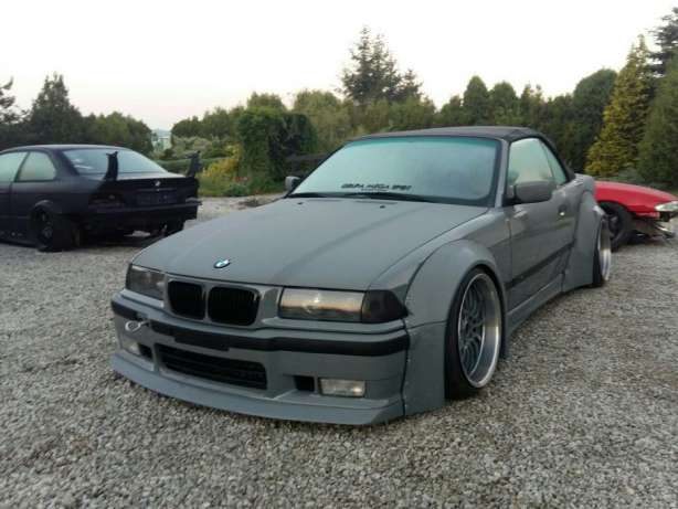 Bmw E36 Fat etuspoileri