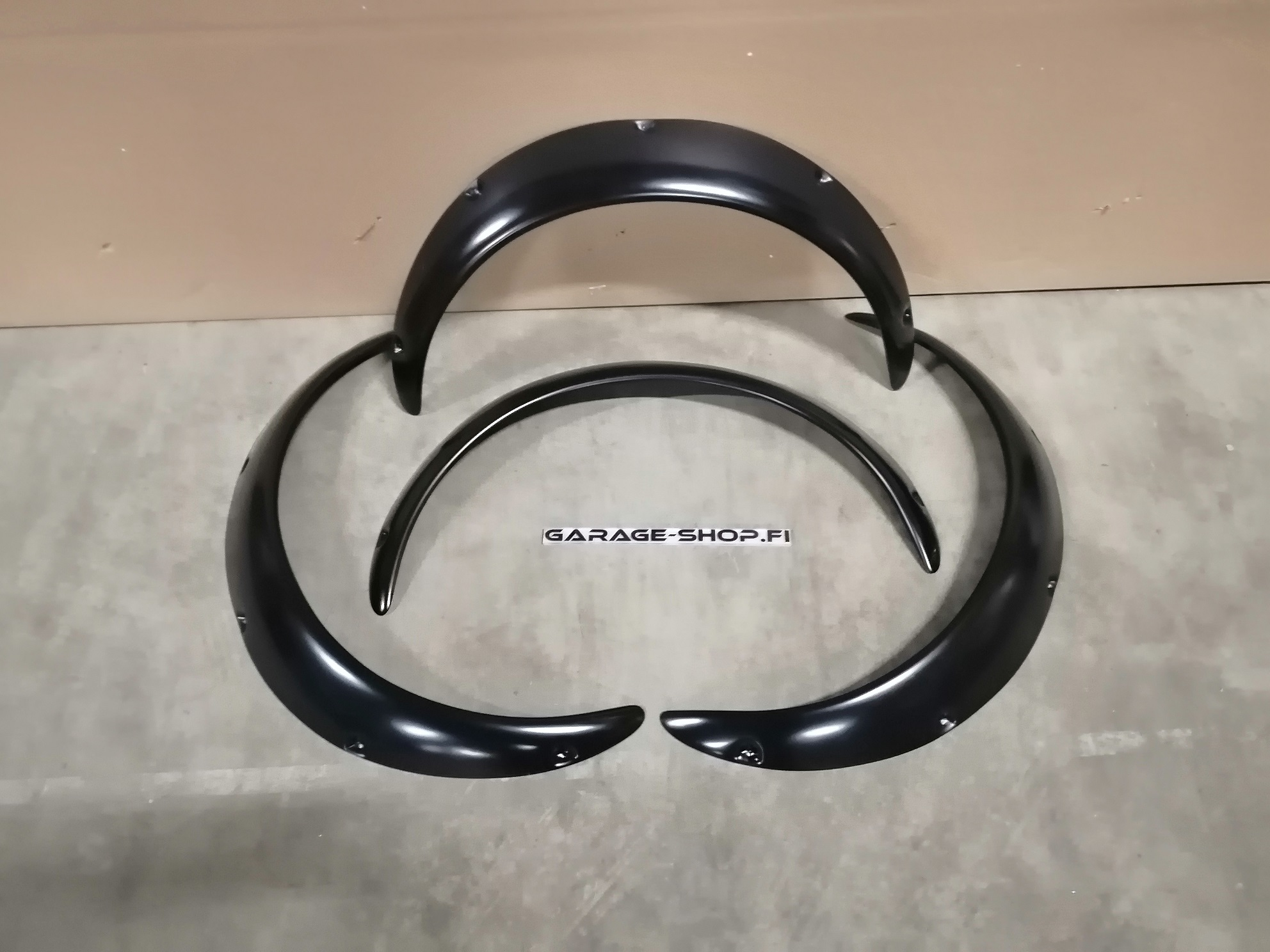 Fender flares Fast 80mm Abs Plastic