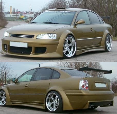 Wide bodykit passat b5