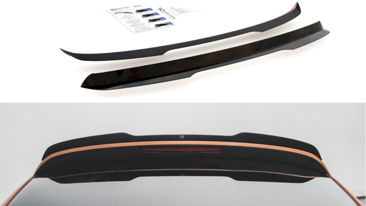 Audi Q7 S-Line 2005-2009 Rearspoiler extension