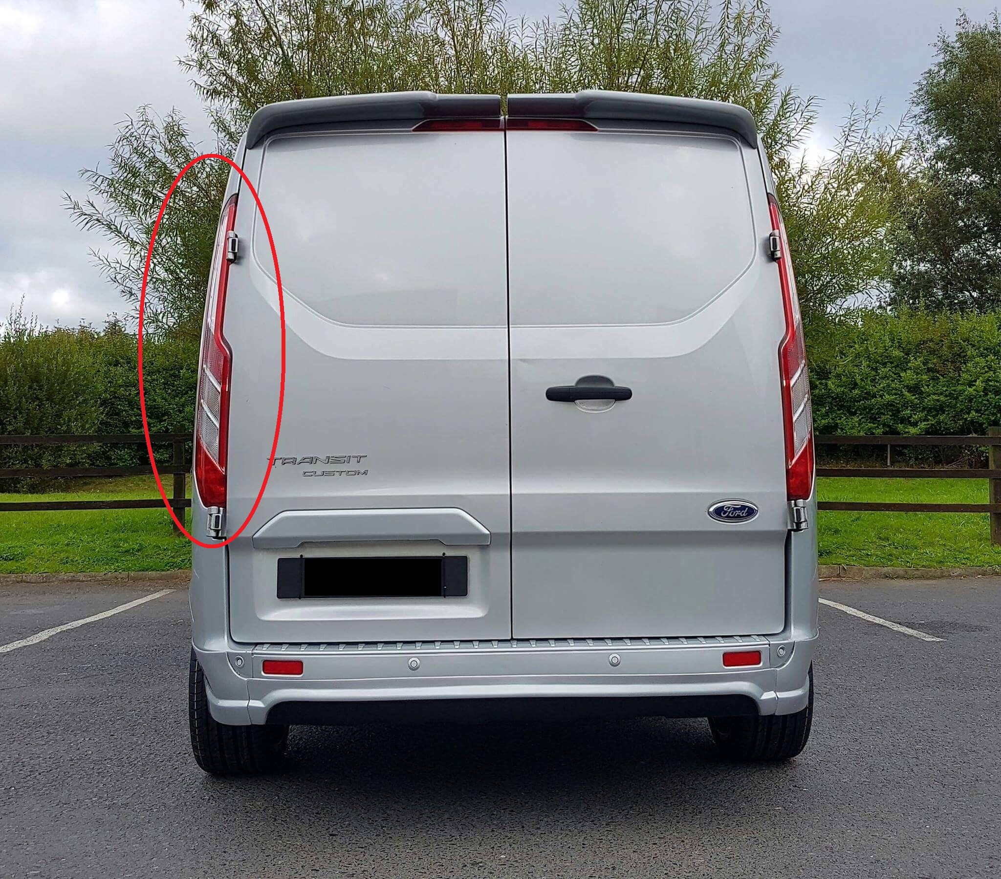 Ford transit custom Rear light left side